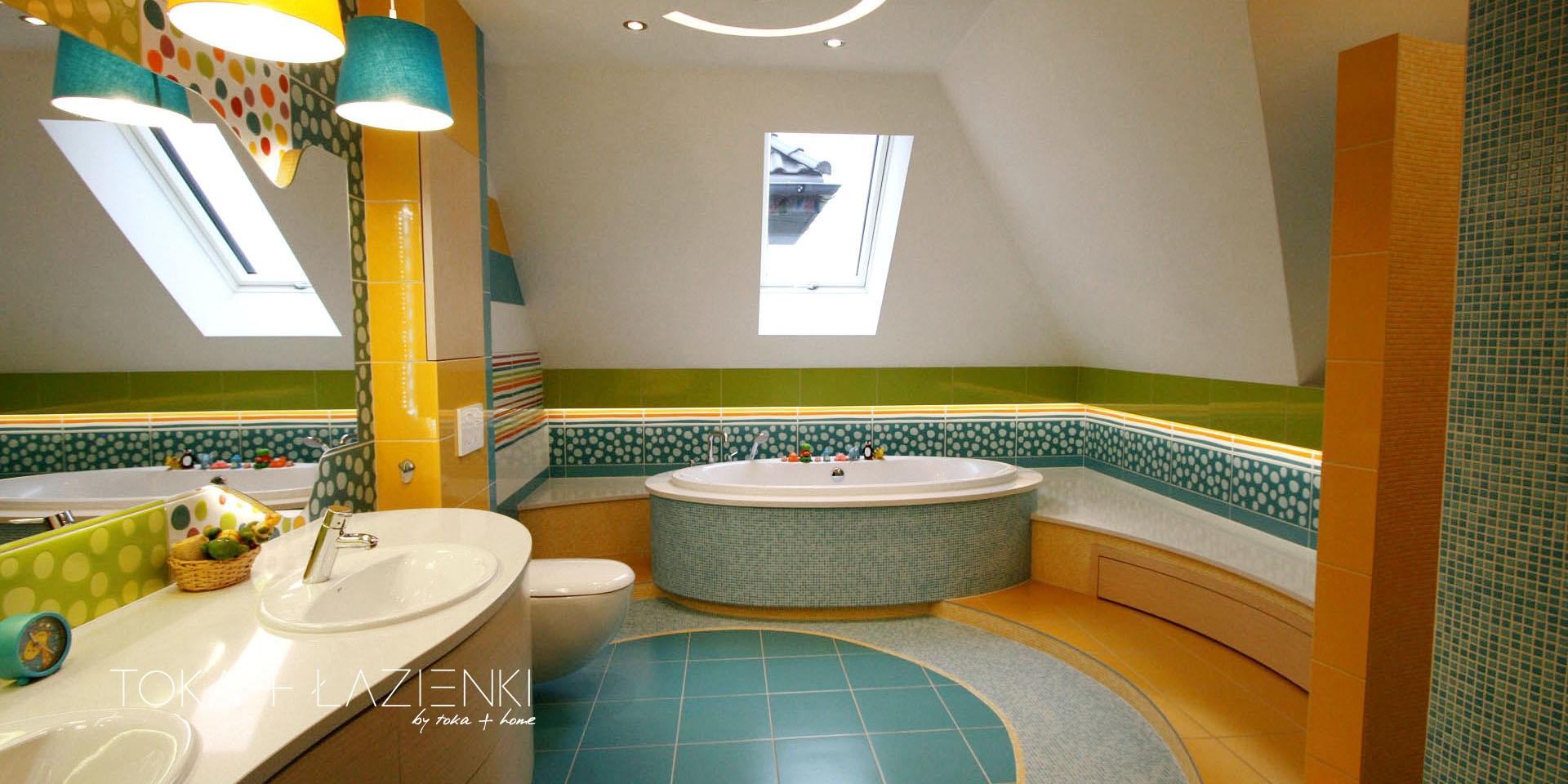 aranżacja łazienki dla dzieci